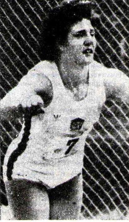 3. Шилхава установила мировой рекорд в метании диска 74,56
