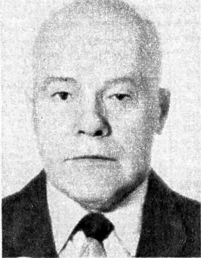Б. Васильев, председатель Совета ветеранов войны Спорткомитета СССР