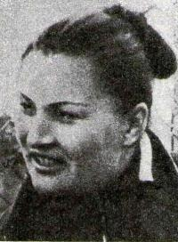 Двукратная олимпийская чемпионка Н. Пономарева
