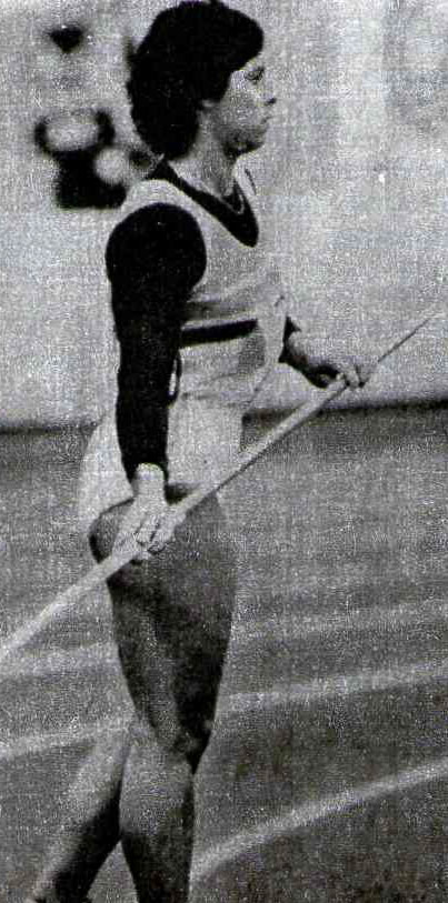 Фатима Уайтбрэд на чемпионате мира завоевала серебряную медаль в метании копья