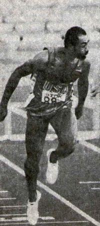 Грег Фостер, чемпион мира в беге на 110 м с/б