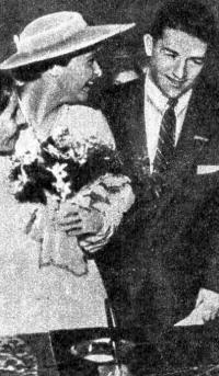Харольд Коннолли и Ольга Фикотова стали в Мельбурне мужем и женой