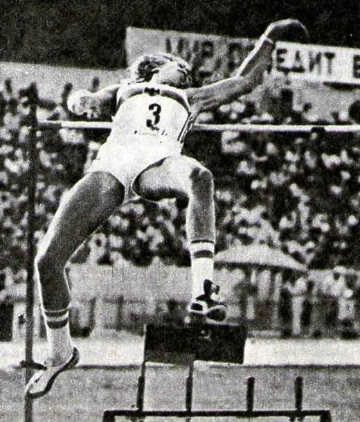 Карло Трейнхард установил высшее мировое достижение в прыжке в высоту — 2,37