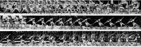 Кинограмма броска копья Уве Хона на «Дружбе-84»