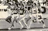 Обладательница серебряной медали чемпионата мира в беге на 800 м Любовь Турина