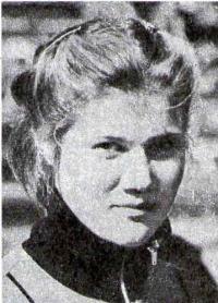 Оля Кувшинова — героиня многих репортажей с эстафеты