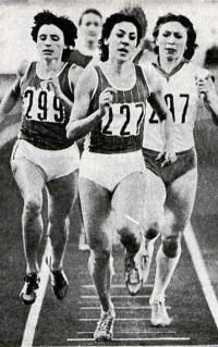 Призер чемпионатов СССР в беге на средние дистанции Равиля Аглетдинова (№227)