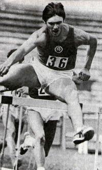 Сергей Усов, серебряный призер чемпионата Европы среди юниоров 1983 г.