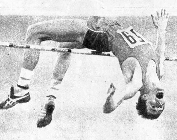 Сергей Зосимович установил рекорд СССР 2,36