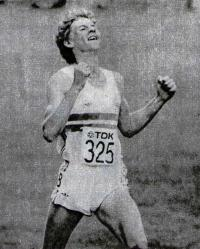 Стивен Крэм, победитель первенства мира в беге на 1500 м