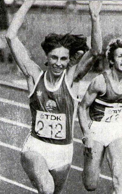 Три золотых медали привезла с чемпионата мира Марита Кох