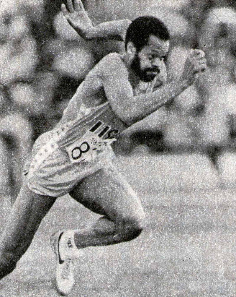 Уильям Бэнкс, рекордсмен США серебряный призер чемпионата мира в тройном прыжке