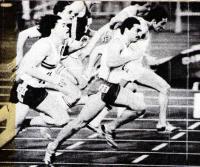 В современном спринте спор идет за сотые доли секунды