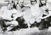Юные бегуны из села Козловское