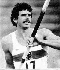 Юрген Хингсен автор одного из мировых рекордов в десятиборье сезона 1982 г