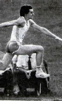 Здислав Хоффман в тройном прыжке