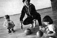 Дети с тренером