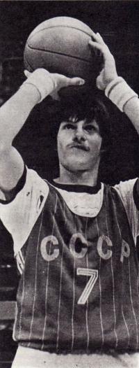 Сергей Базаревич на тренировке