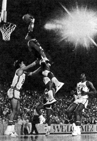 В баскетболе много интересных моментов