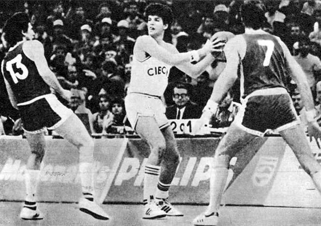 Великолепная десятка «Цибоны» и сборной Югославии Дражен Петрович