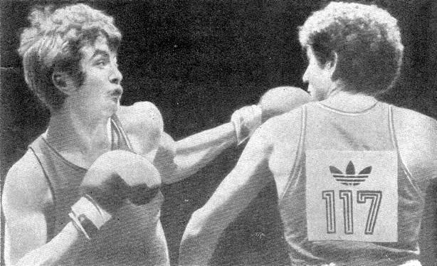 Чемпион Европы 1979 г. С. Конакбаев (слева)