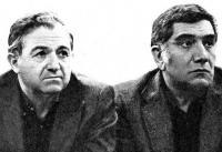 Два тренера — Никита Симонян и Армен Джигарханян, симпатизирующие друг другу