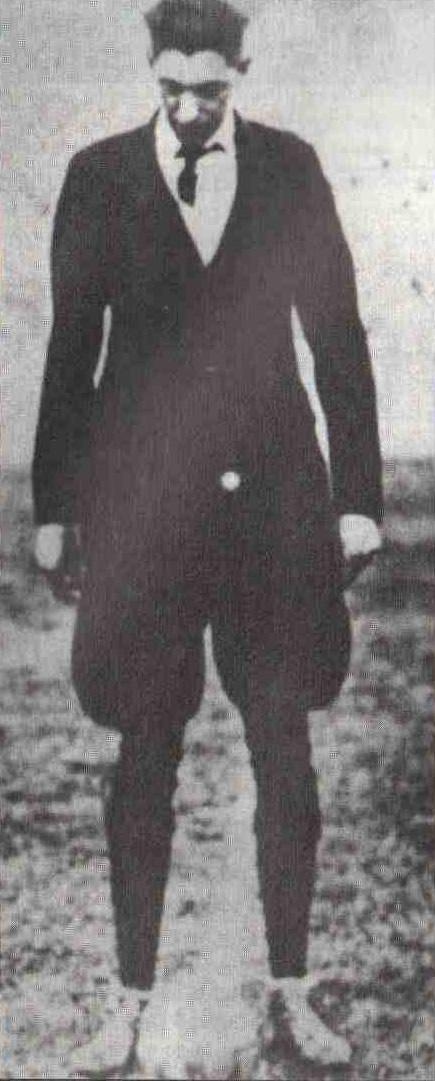 Джон Лангенус — арбитр первого финала чемпионатов мира