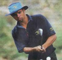 Еще одна ипостась Фиша — на поле для гольфа