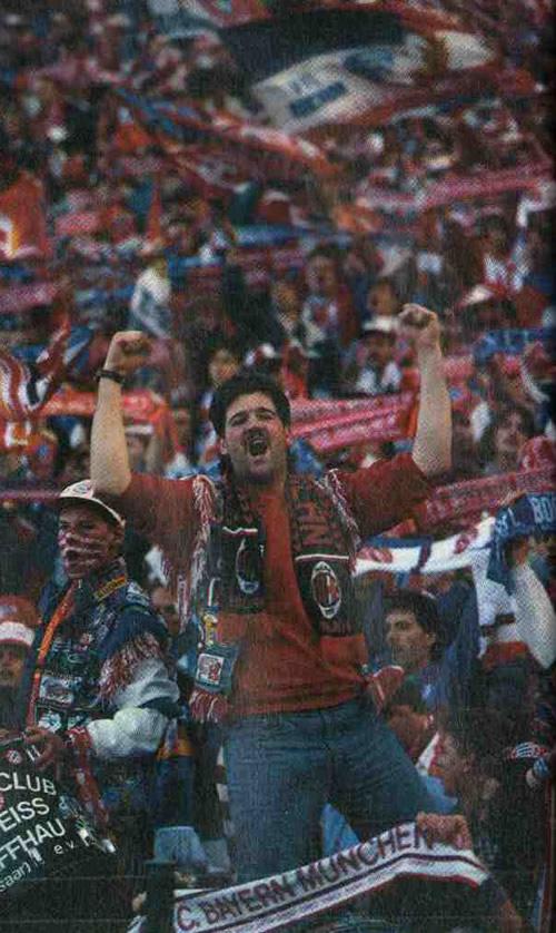 Футбольный фанат