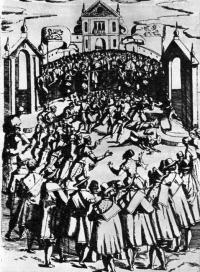 Кальчио — футбол XVI века во Флоренции
