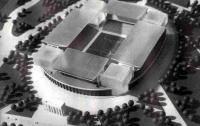 Макет нового стадиона «Динамо»