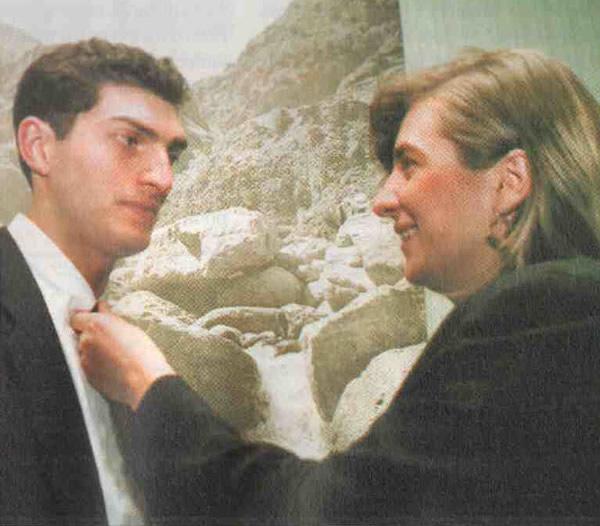 Михаил Кавелашвили и Тамара