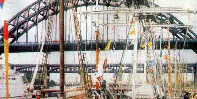 Ньюкасл. Мост через реку Тайн