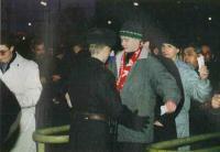 Обыск при входе на стадион