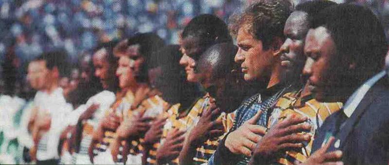 Сборная ЮАР — обладатель Кубка Африки—96