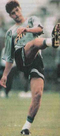 Тулио Умберто на футбольном поле