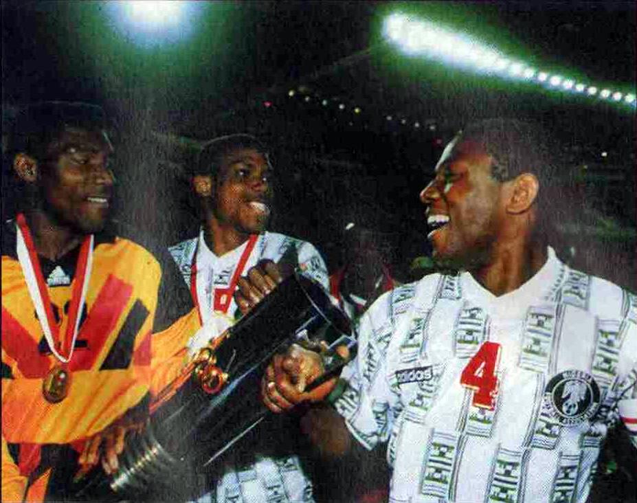Тунис 1994. В руках у нигерийцев — Кубок Африки