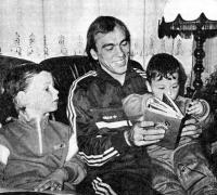 Вагиз Хидиятуллин с детьми