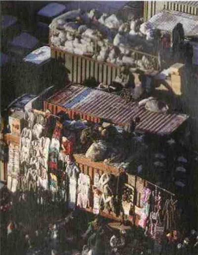 Вещевой рынок на территории