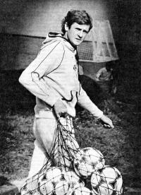 Владимир Бессонов перед тренировкой