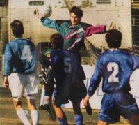Вратарь «Жемчужины» Евгений Крюков был лучшим в матче с «Торпедо»
