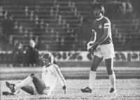 За год до трагедии. Михаил Ан (с мячом) в матче сезона 1978 против киевского Динамо