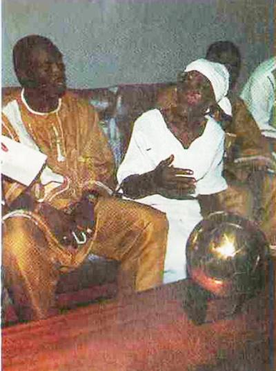 Золотой мяч лучшего футболиста Африки Джордж привез бабушке