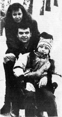 Алексей Марьин с семьей