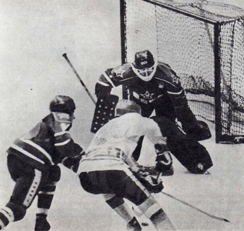 Хоккейные ворота картинка