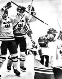 Безмерна радость шведских хоккеистов