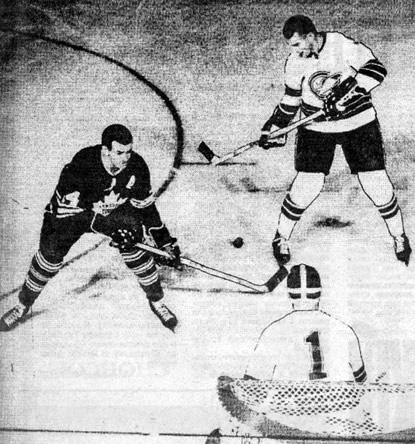 Фото матча НХЛ 1968-1969