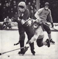 Хоккеист московского «Динамо» и сборной СССР Валерий Маслов