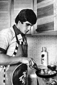 Сергей Макаров выступает в качестве кулинара