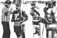 У хоккеистов Усть-Каменогорска с московским Спартаком был вопрос к арбитру